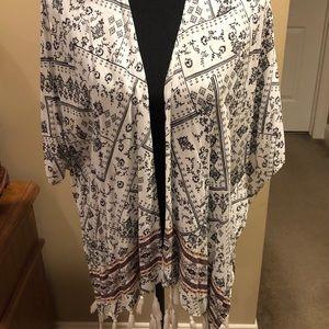 Maurices Kimono Cardigan